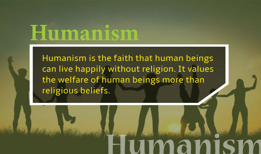 Concept of Humanism