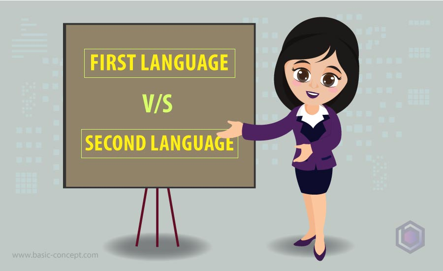 Difference between a First Language & a Second Language