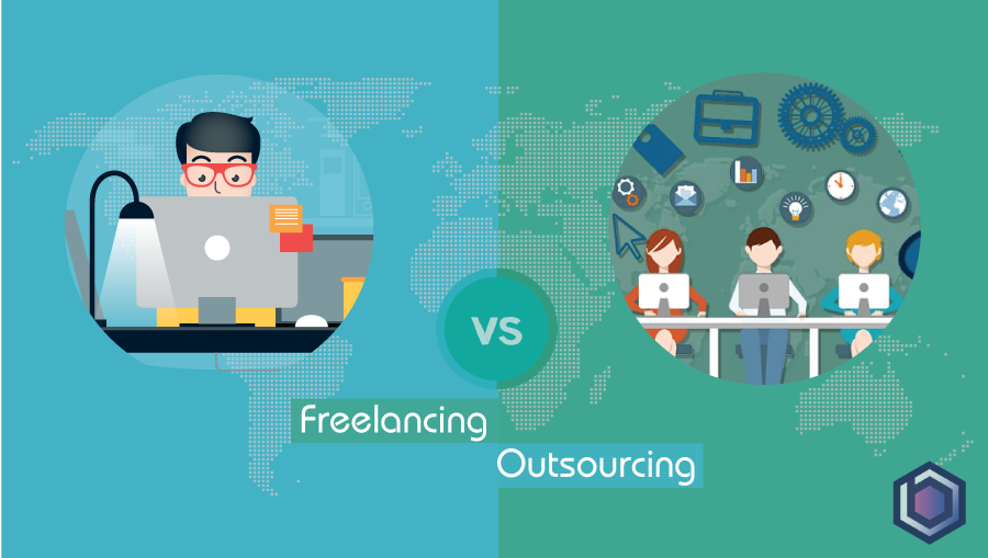 Freelancing vs Outsourcing: Connected but not Same