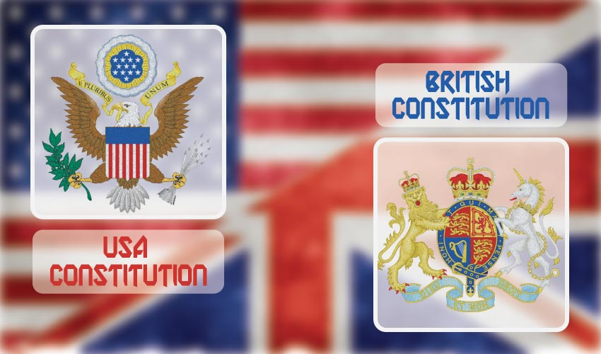 Differences between USA Constitution and British Constitution