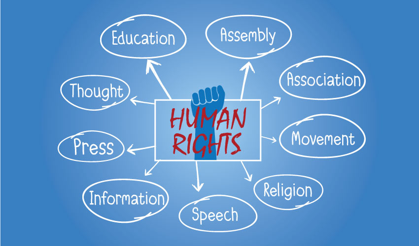 What are the basic human rights?