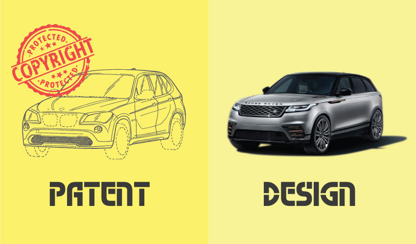 Difference Between Patent and Design