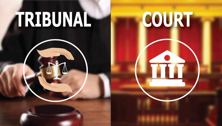 Difference Between Tribunals and Courts